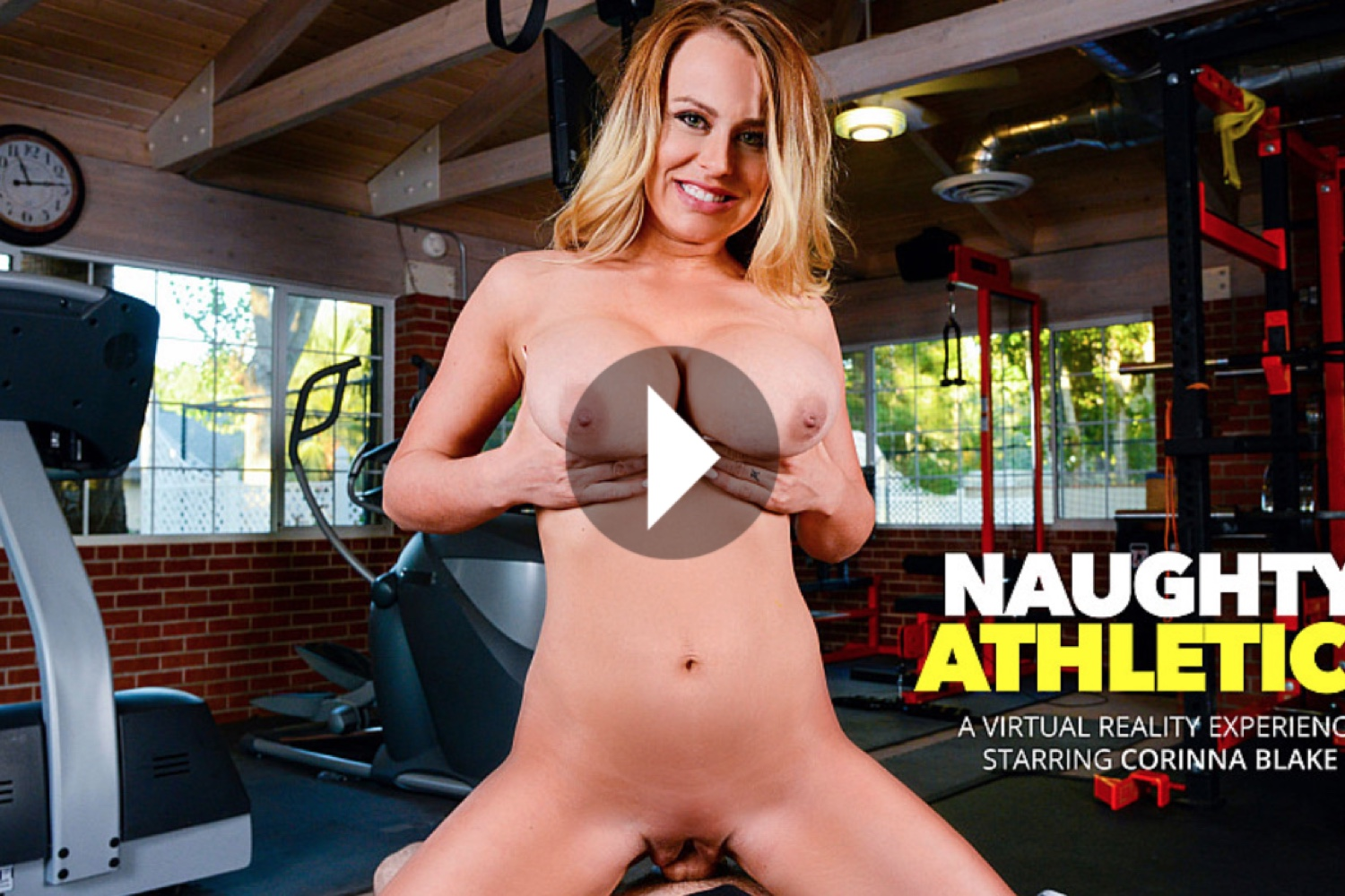 Naughty Athletics - Corinna Blake VR Porn - Corinna Blake Virtual Reality Porn