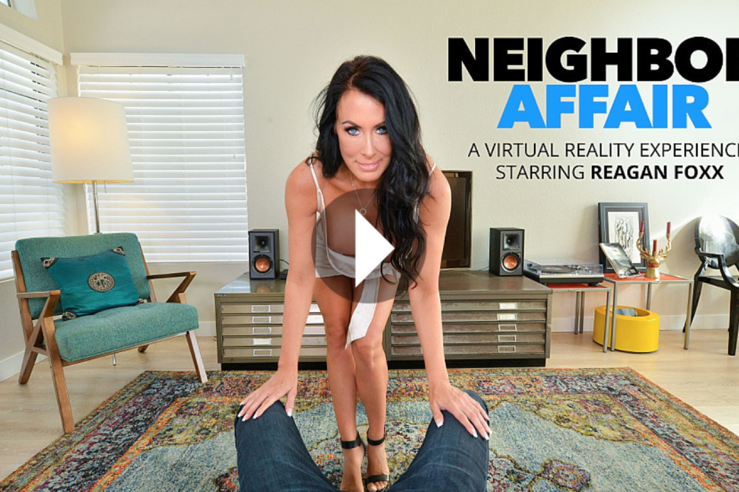 Neighbor Affair - Reagan Foxx VR Porn - Reagan Foxx Virtual Reality Porn