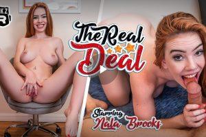 The Real Deal - Nala Brooks VR Porn - Nala Brooks Virtual Reality Porn
