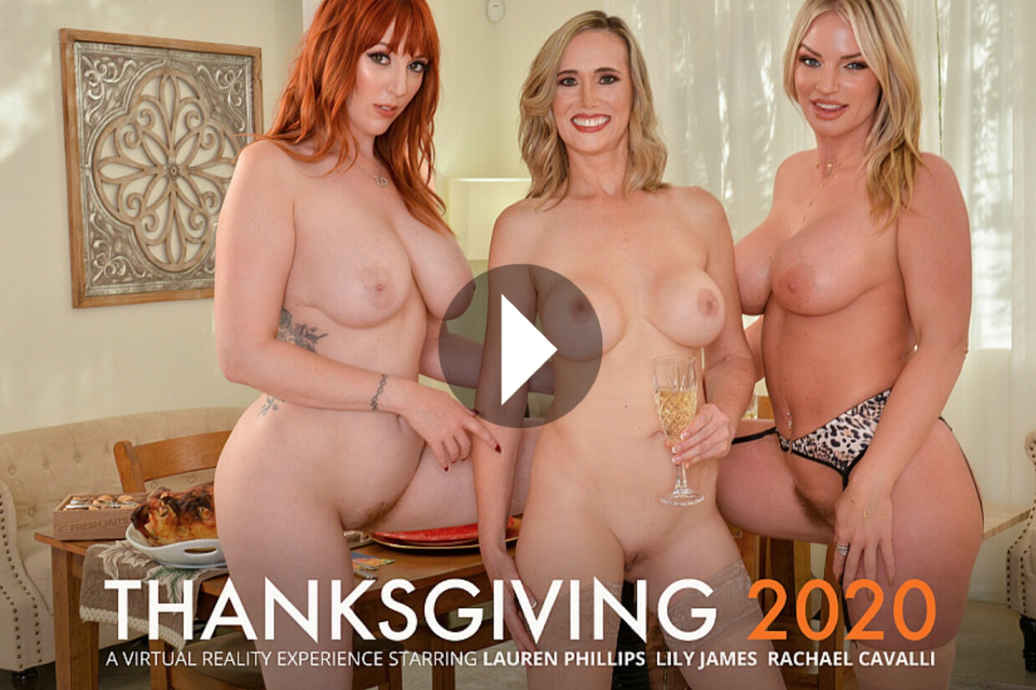 Thanksgiving 2020 - Lilly James VR Porn - Rachael Cavalli VR Porn - Lauren Phillips VR Porn - Lilly James Virtual Reality Porn - Rachael Cavalli Virtual Reality Porn - Lauren Phillips Virtual Reality Porn - Lilly James Stockings - Rachael Cavalli Stockings