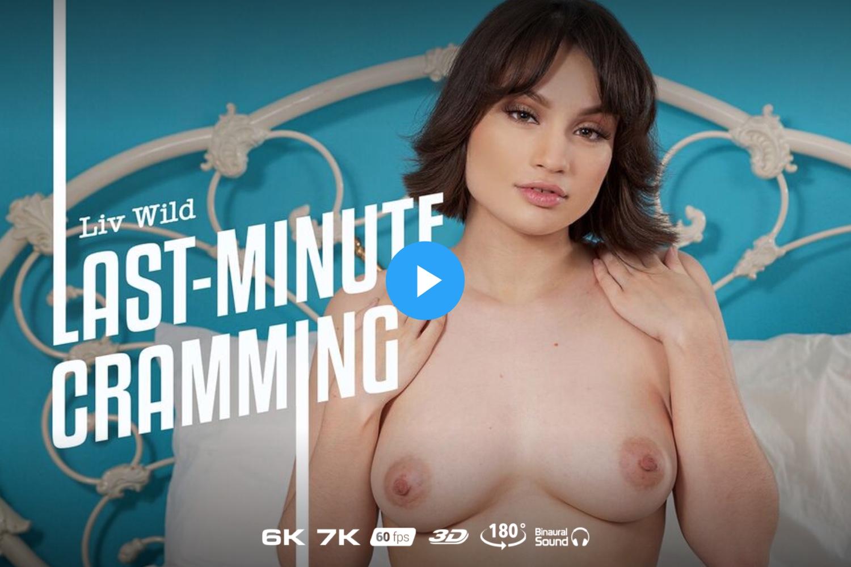 Last Minute Cramming - Liv Wild VR Porn - Liv Wild Virtual Reality Porn