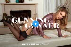 Gunning For Gunner - Kayley Gunner VR Porn - Kayley Gunner Virtual Reality Porn - Kayley Gunner Stockings
