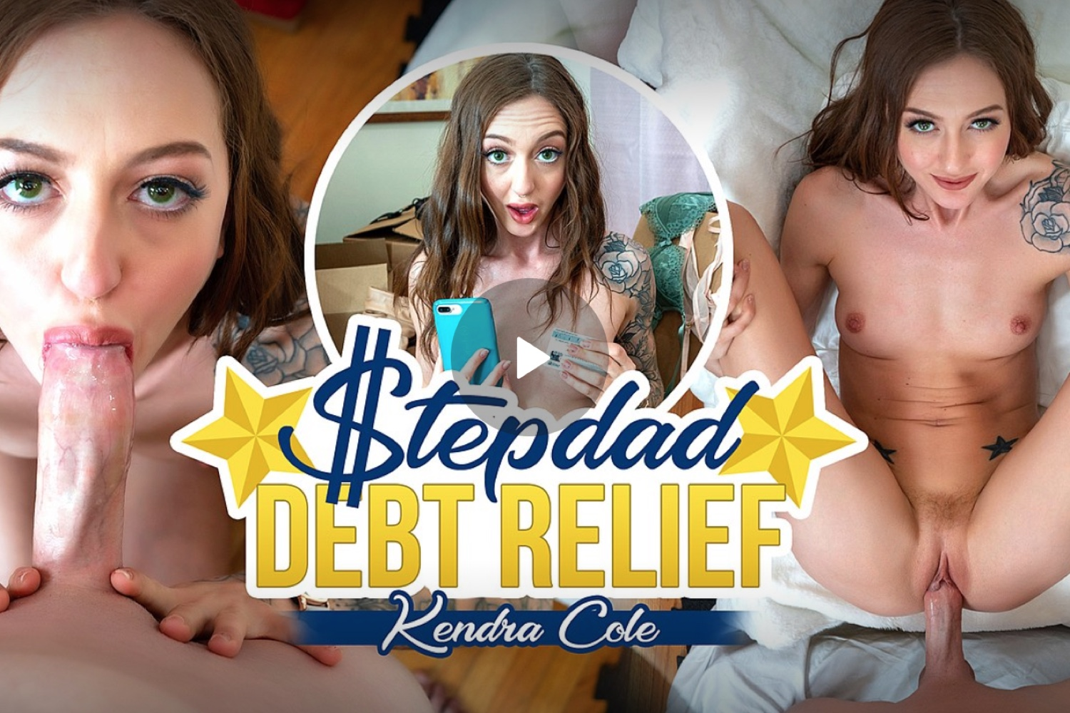 Stepdad Debt Relief - Kendra Cole VR Porn - Kendra Cole Virtual Reality Porn