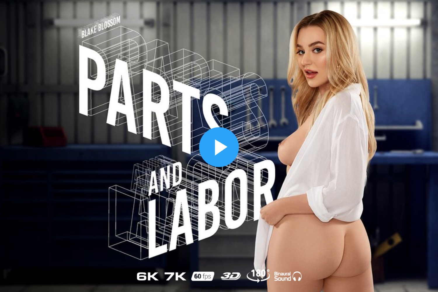Parts and Labor - Blake Blossom VR Porn - Blake Blossom Virtual Reality Porn