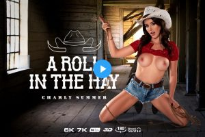 A Roll In The Hay - Charly Summer VR Porn - Charly Summer Virtual Reality Porn