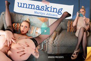 Unmasking Marilyn Johnson - Marilyn Johnson VR Porn - Marilyn Johnson Virtual Reality Porn - Marilyn Johnson Stockings