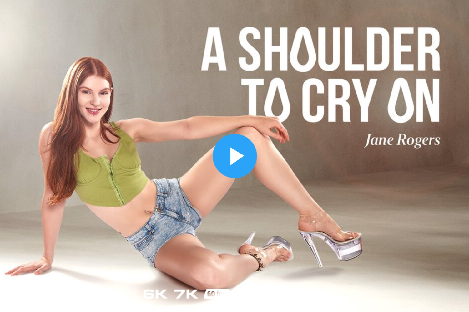 A Shoulder to Cry On - Jane Rogers VR Porn - Jane Rogers Virtual Reality Porn