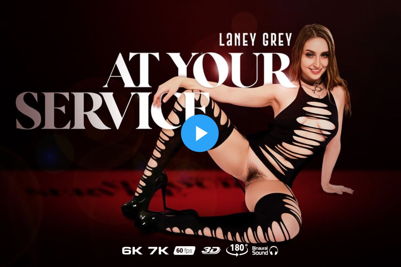 At Your Service - Laney Grey VR Porn - Laney Grey Virtual Reality Porn
